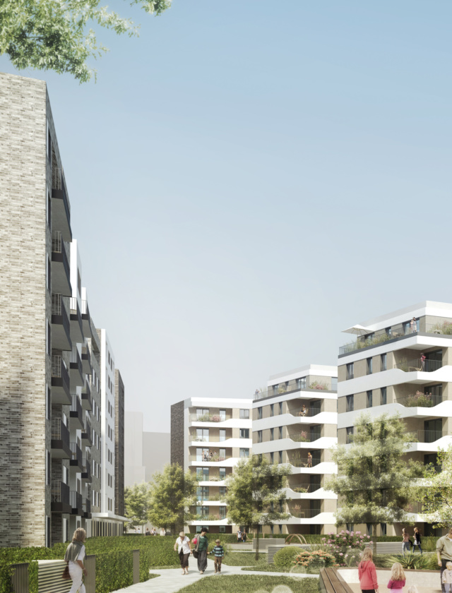 Bema Gruppe hat in der Worringerstraße einen kompletten Wohnblock entwickelt