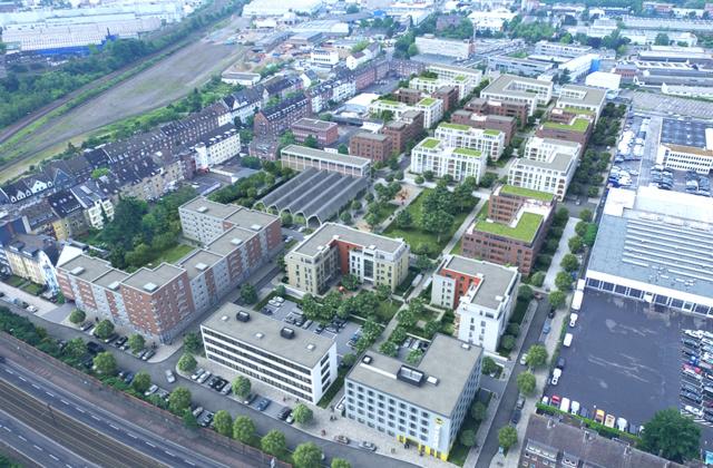 Nachhaltig: Quartierentwicklung Neuss ehemaliges Pierburg-Gelände