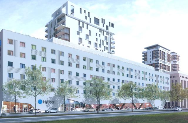 "Urban: H2 Hotel im ""Le Quartier Central"""