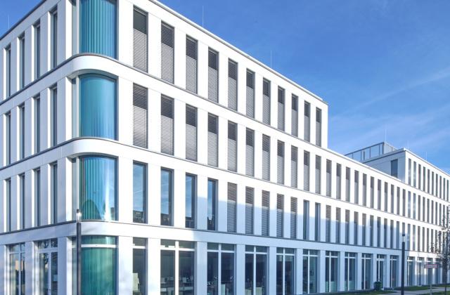 Elegant: Das Silizium – Headquarter Huawei