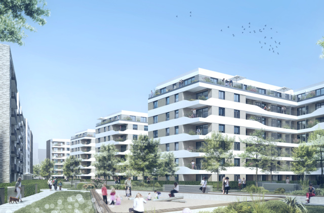 Innovativ: Quartiersentwicklung Worringer Straße Düsseldorf