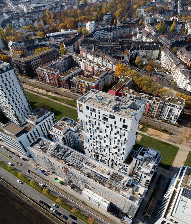 Das H2 Hotel in Düsseldorf ist eines der größten Stadtentwicklungsprojekte in NRW. Bema Gruppe präsentiert.