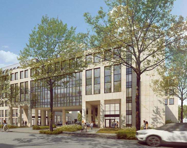 Die Yorck Offices in Düsseldorf Derendorf wurde von bema Gruppe fertiggestellt.